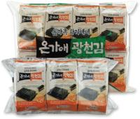 Ongaae Gwangcheon Seasoned Laver(Small Size Traditional Laver 3 Bundle Packing)