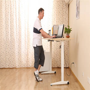 Wholesale sit stand desk: Wholesale Two or Three Legs Electric Height Adjustable Office Desk for Sitting and Standing