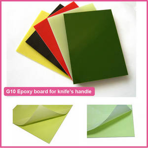 Wholesale fr4/g10 sheet: G10 Insulation Material for Knife Handle