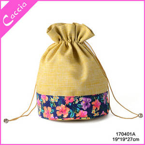 Wholesale wholesale fashion: New Wholesale Fashion Custom Linen Drawstring Cosmetic Bag