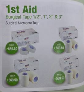 Wholesale cosmetics: 1st Aid Surgical Tape