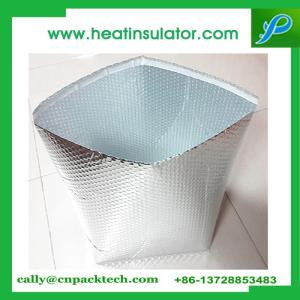 Wholesale food pad: 3D Aluminum Foil Bubble Bag for Goods Cushion Shipping Packing