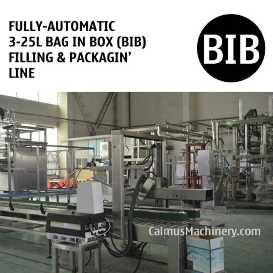 Sell Fully-automatic 3-25L Bag in Box Filling Machine BIB Packaging Line
