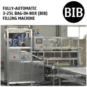 Wholesale bib: Fully-automatic BIB with Vitop Scholle Tap Bag in Box Filling System