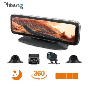 Wholesale car rear view: 5 IPS Android GPS Rear View Mirror Car DVR