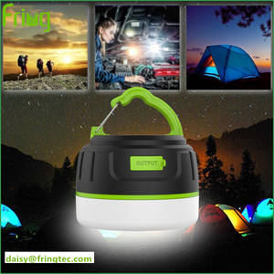 Wholesale camping lamp: Hot Sales LED Camping Lamp Power Bank 5200mAh with 5 Lighting Modes for Outdoor Lighting