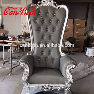 Wholesale Other Manicure & Pedicure Supplies: Wholesale Gray Royal Pedicure Spa Chair with Pedicure Bowl CB-FP003