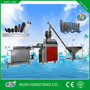 Wholesale compressed coal machine: CTO Activated Carbon Filter Cartridge Machine by Wuxi Hongteng