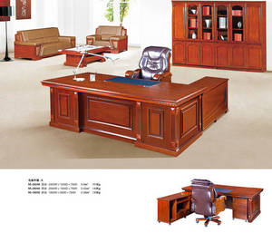 Wholesale wood desk: Wood Executive Office Desk