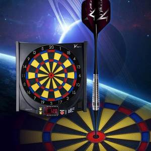 Wholesale Dartboards: Hang-wall Electronic Dart Board with 6 Pieces Soft Tip Darts