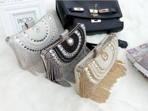 Wholesale cluth: Acrylic Box Clutch Bag Bridal Evening Bag Queen Portable Cluth Evening Bag