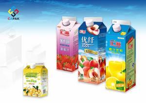 Wholesale Packaging Boxes: Juice Gable Top Aseptic Package Sleeve