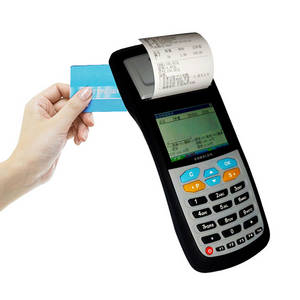 Wholesale handheld terminal: Handheld Parking POS Terminal with Paper Slip Printing Function