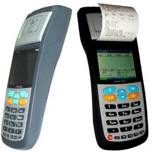 Wholesale Parking Equipment: Handheld RFID Reader with 58 Mm Thermal Printer