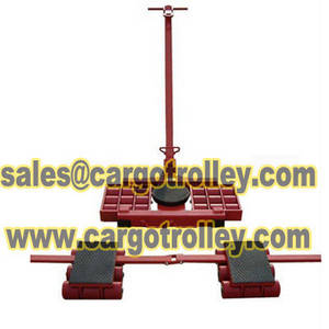 Wholesale load moving skates: Three Point Machinery Skates Move Loads Easily