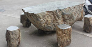 Wholesale leisure: Natural Stone Garden Leisure Table