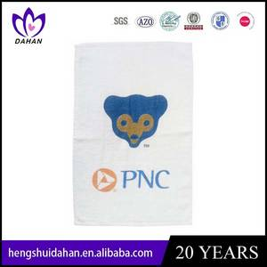 Wholesale towel: 100% Cotton Embroidery Solid Terry Towel