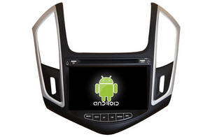 Wholesale car dvd: 2 Din Android 4.2 Car DVD with GPS, IPOD, TV for Chevrolet Cruze 2014