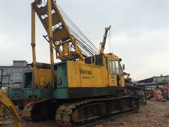 Sell Used 50Tons Crawler Crane of Hitachi-KH180