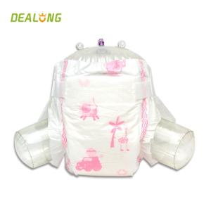 Wholesale baby care set: Cloth-like Back Sheet Diaper for Baby with Magic Tapes