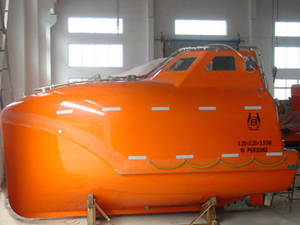 Wholesale rescue boat: 4.9M Free Fall LifeBoat&Rescue Boat with Davit