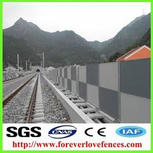 Wholesale pc solid sheet: Highway Noise Barrier for Highway Used