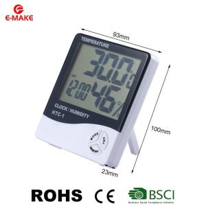 Wholesale thermometer hygrometer: LCD Digital Temperature Humidity Meter Indoor Outdoor Hygrometer Thermometer Weather Station