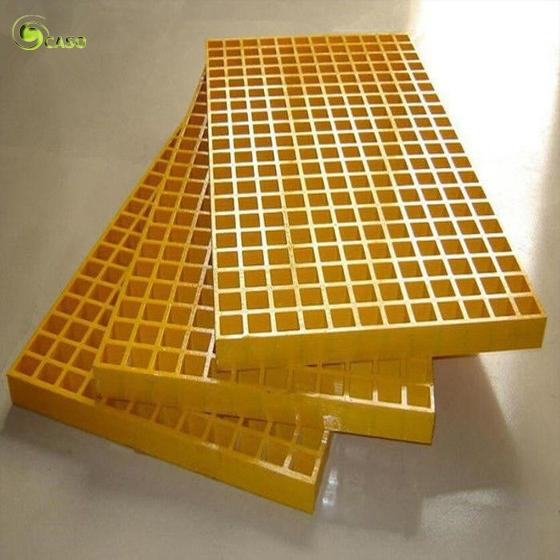 Small Hole Polymer Gutter Stair Grating Floor 30mm GRP Drain Trench Grill Cover