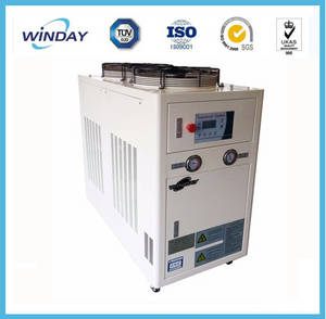Wholesale Refrigeration & Heat Exchange: 7C Temp. 3HP Air Cooled Scroll Water Chiller 8KW