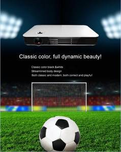 Wholesale projector screen: 5000 Lumens 3D Dlp Projector TV HD 1080P for School Large Meeting Room Screen Size 300 Inch