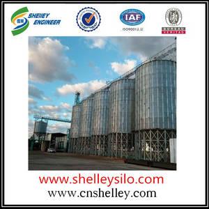 Wholesale maize corn flour mill: Corn Maize Steel Grain Storage Silos