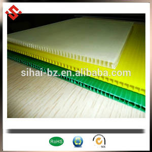 Wholesale coroplast: PP Flatbed Wholesale Coroplst Sheet