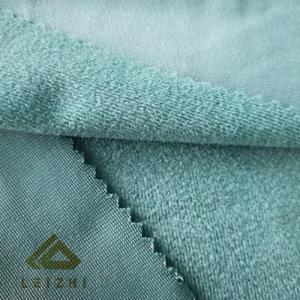 Wholesale Knitted Fabric: 100% Polyester Warp Knitted Tricot Brush Fabric