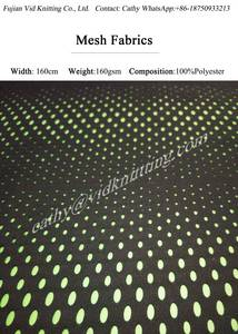 Wholesale polyester fabric: 100% Polyester Mesh Fabrics