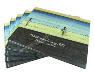 Wholesale silver hanging: Custom Hardcover Photography Book with Gloss Finish