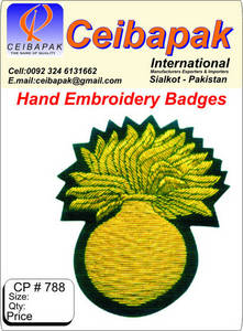 Wholesale Embroidery Crafts: Hand Embroidery Badges