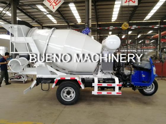2 Cubic Meters Tricycle Cement Concrete Mixer Truck
