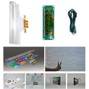Wholesale 4-wire 17 touch panels: 32 Inch Capacitive Touch Foil Film for LCD Display