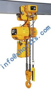 Wholesale cable latch system: Monorail Hoist 0.5Ton-10Ton (With Electric Trolley)