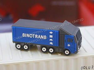 Wholesale Blank Disks: SINOTRANS Truck USB|Truck Shape Flash Memory