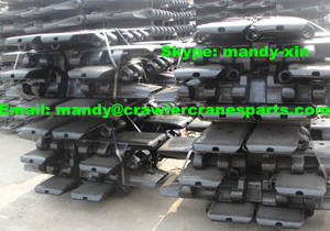 Wholesale demag cranes: DEMAG CC2800 Track Pad / Track Shoe / Bottom Plate for Crawler Crane Undercarriage Parts