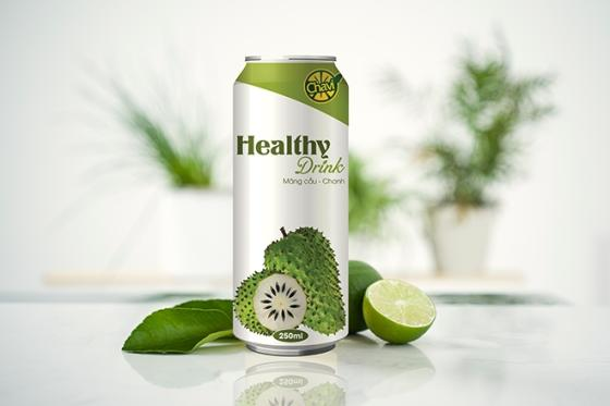 CHAVI Lime Juice with Soursop