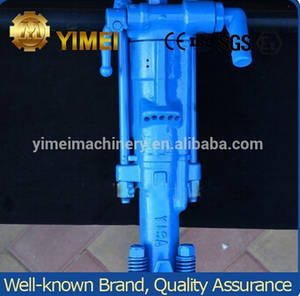 Wholesale hand drill: Y19A Hand-Held Pneumatic Rock Drill for Small Quarry