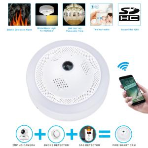 Wholesale alarm: 2018 New Fire SmartCam/Dangerous Gas Alarm Network CCTV Security WiFi HD IP Camera