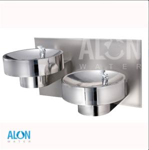 Wholesale feature fountain: AL-DF-A2 Drinking Water Barrier-Free Dual Wall Mount Fountain Drinking Fountians/Ambient