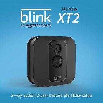 Best Affordable Blink XT2 Outdoor Indoor Smart Security Camera with Cloud Storage Included
