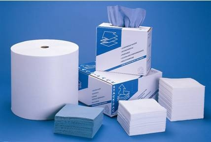 Sell Spunlace Nonwoven Fabric For Household / Kitchen Cleaning Wipes