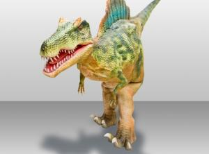 Wholesale party costume: Adult Walking Human-controlled Dinosaur Costume