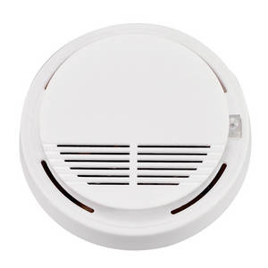 Wholesale security detector: High Sensitive Photoelectric Home Security System Cordless Wireless Smoke Detector Fire Alarm Equipm
