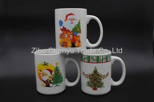 Wholesale Promotional Gifts: Decal Porcelain Coffee Mug Gift Product Promotion Can Be OEM
